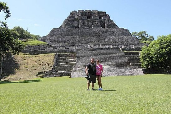 来自伯利兹城的Xunantunich Mayan Ruin