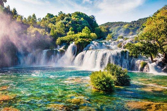 Krka-watervallen en Sibenik-tour ...