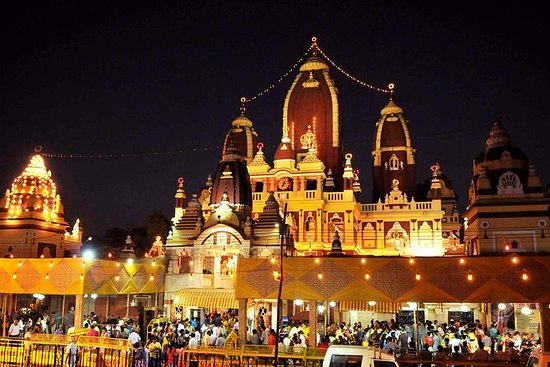 Delhi pela Excursão Noturna