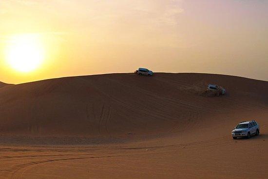 Over natten Safari Al Kathim Desert...