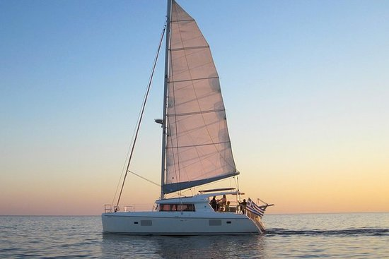 Caldera Catamaran Gold Sunset Cruise...
