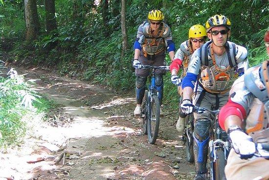 Full-Day Scenic XC Downhill Biking en...