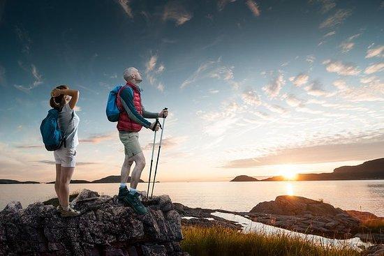 Midnattssol Vandring på Lofoten