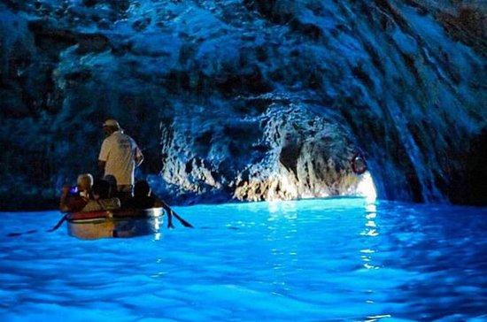 Isola di Capri e grotte da Sorrento