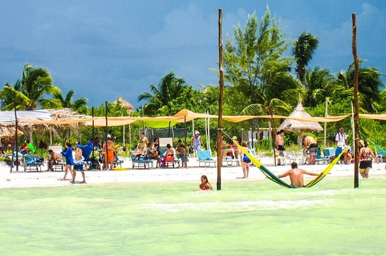 Visite de l'île Holbox depuis Playa...