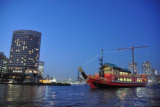 Crucero en la bahía de Tokio con cena...