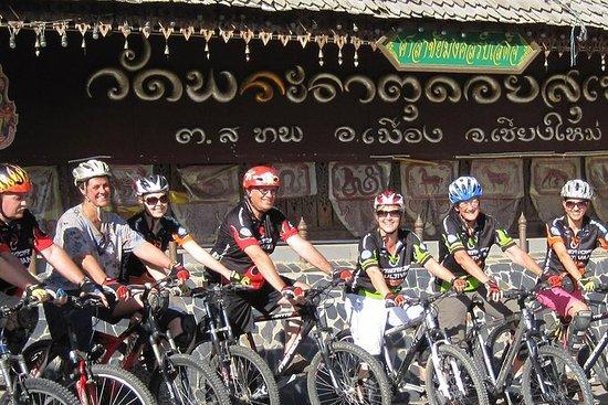 Bicicleta acima de Chiang Mai