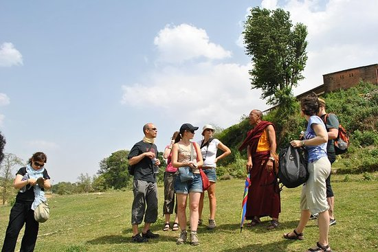 Debate with a Monk at Kopan Monastery