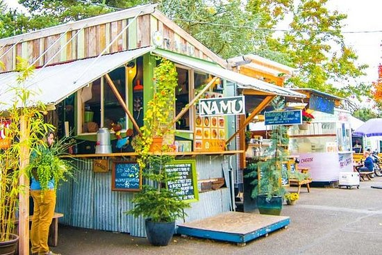 Portland Food Carts and Neighborhoods...