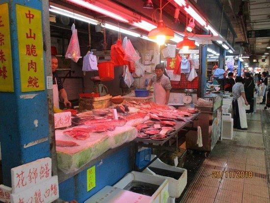 Hong Kong Food Tour: Tai Po Market: wet market