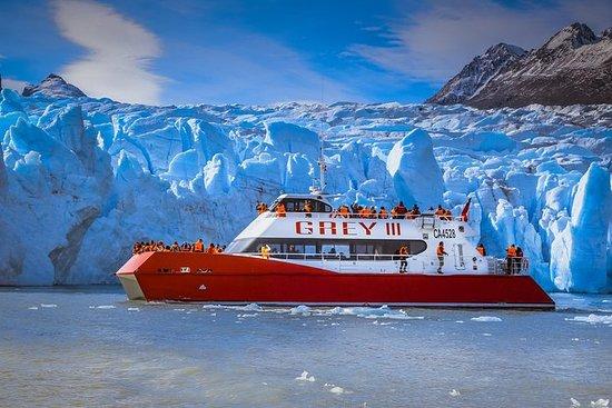 Navegación hacia el Glaciar Grey desde...