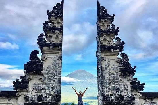 Gateway of Heaven at Pura Lempuyang...