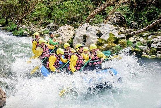Rafting en los ríos lousios y alfeios.