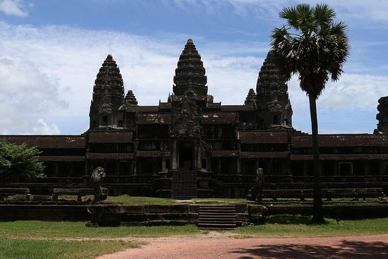Angkor Wat med lunsj, Temple Pass og...