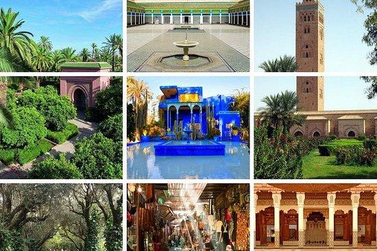マラケシュツアー:庭園、モニュメント&パレス