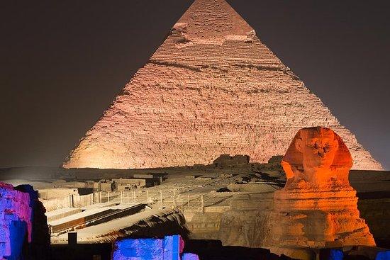 Pirámides y Sphinx Sound & Light Show