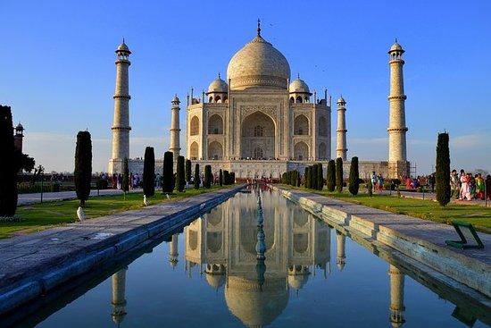Tour privado: Taj Mahal y Agra Tour...