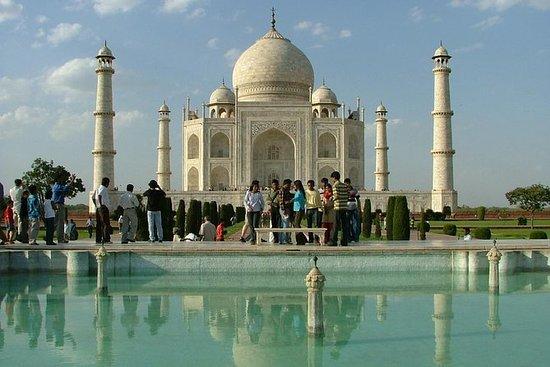 Taj Mahal Sunrise Tour desde Nueva...