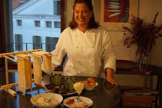 Aula de culinária gostoso em Veneza