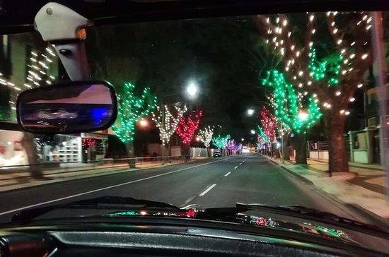 Funchal Christmas lights sightseeing...