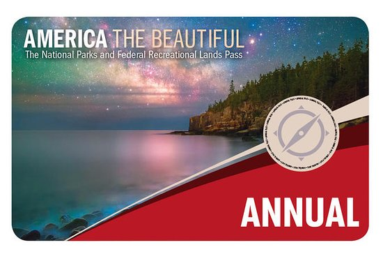 America the Beautiful - Pass annuel...