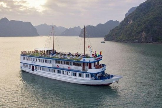 Halong Bay Cruise Luxus 3 Tage, 2 ...