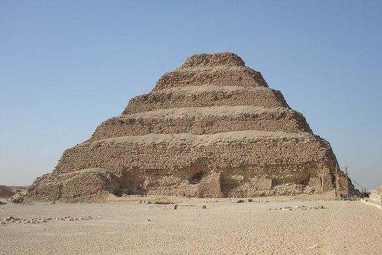 Privat tur, egyptisk museum og sakkara