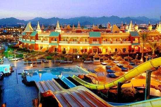 Aventuras do parque aquático em Sharm...