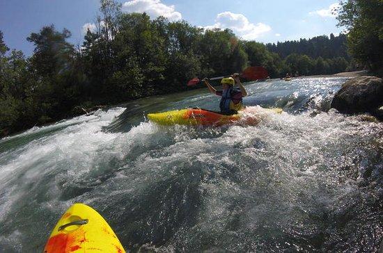 Kayaking on the sava river Bled