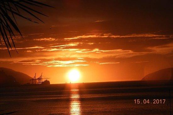 Fangen Sie den Sonnenaufgang...