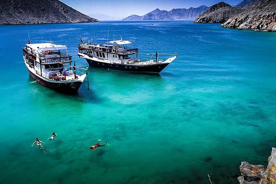 Full Day Musandam Cruise de Dubai com...