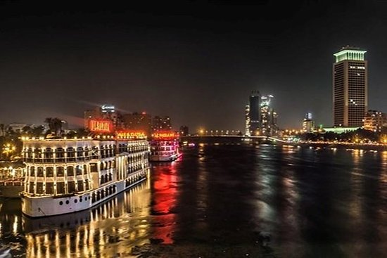 Nile Dinner Cruise in Cairo with...