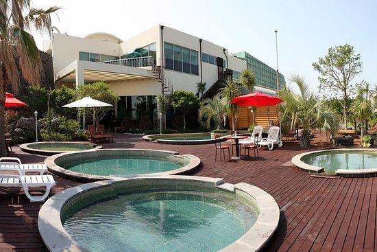 Boleto de descuento para las aguas termales de Jeju Sanbangsan: Jeju Sanbangsan Hot Springs Discount Ticket