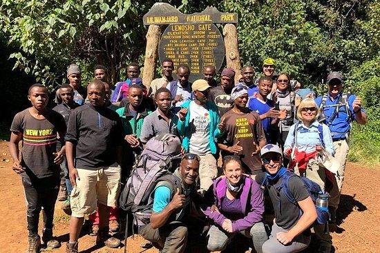 Monte Kilimanjaro escalada - 8 días...