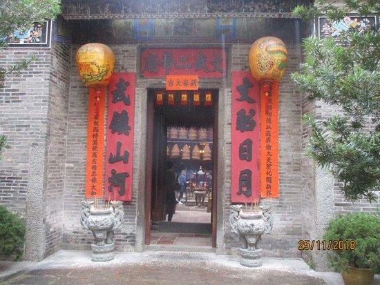 Tai Po Man Mo Temple