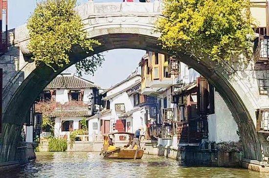 La ciudad de agua de Zhujiajiao y la...