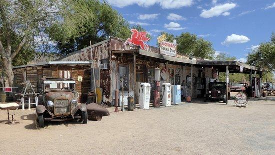 Hackberry, AZ: Ett ruckel till handelsstation
