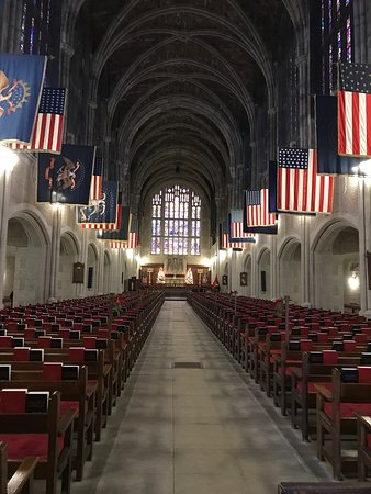 Highland Falls, NY: Cadet Chapel West Point Academy - December 10, 2018