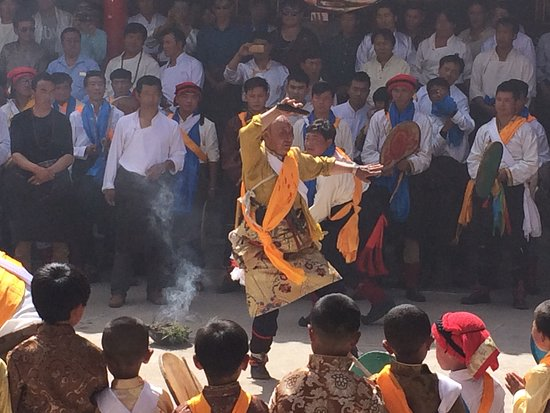 Tongren County, China: During the Shaman Festival in Repkong.