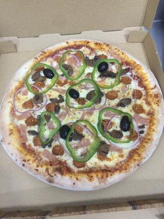 Pizza de service.