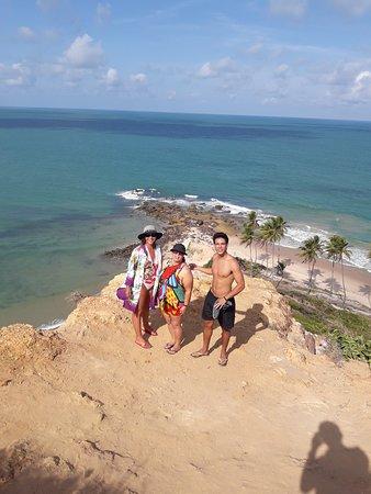 Coqueirinho Beach: Vista da praia de coqueirinho- litoral sul de João Pessoa.