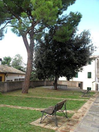 Castel d'Emilio, Italy: Parco pubblico in piazza Gramsci