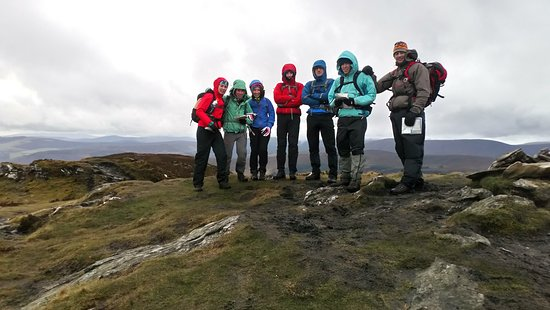 Bray, Ireland: Another superb group learning to become comfortable and self reliant in the Irish Mountains. Great craic and lots of learning in the beautiful Wicklow Mountains