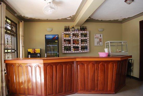 Reception and Bar - Rwenzori Imperial Hotel, Kasese, Uganda