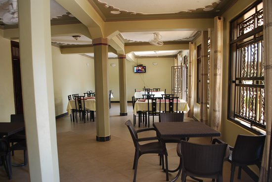 Restaurant, Comference and Recreation area - Rwenzori Imperial Hotel, Kasese, Uganda