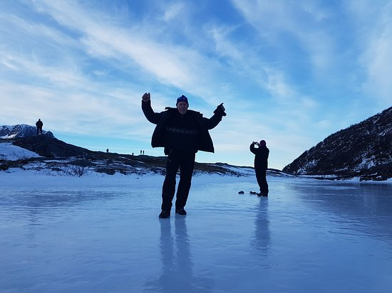 Karl-Ivar's Guided Tours: We are testing the ice.