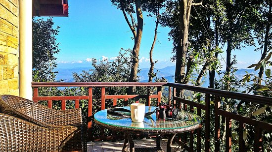 Get Up in the morning, sit with a cuppa and enjoy the view