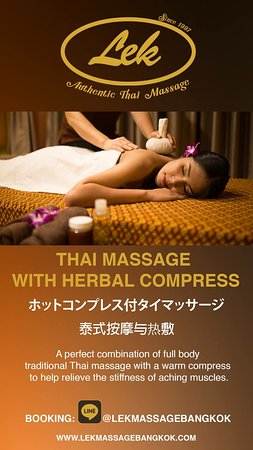 Thai Massage with Hot Compress