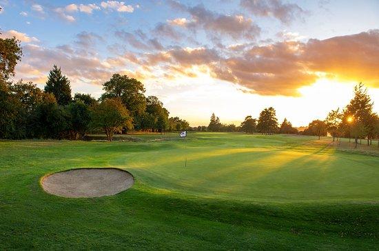 The 6th hole at Goring & Streatley Golf Club