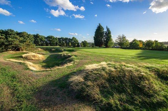The 7th hole at Goring & Streatley Golf Club.